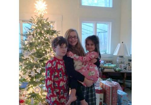 The tree and Parker, Avery & Kelly