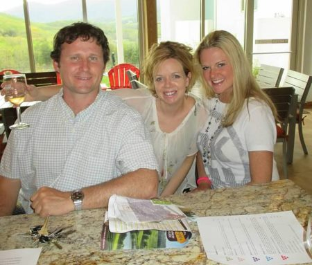 Tim, his girlfriend Kristen, and Mary